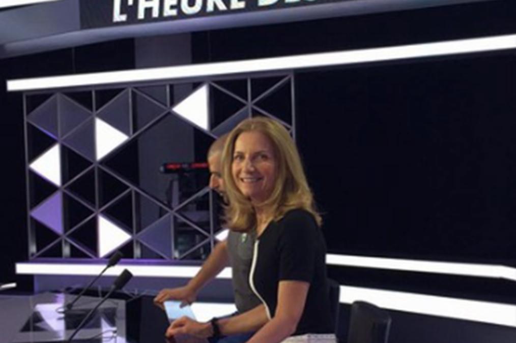 CNews pour l'émission «L'heure des pros»